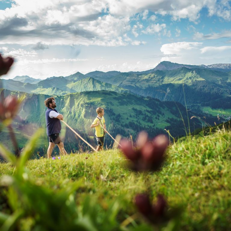 Hirten, Bärguntalpe, Kleinwalsertal (c) Dietmar Denger / Vorarlberg Tourismus