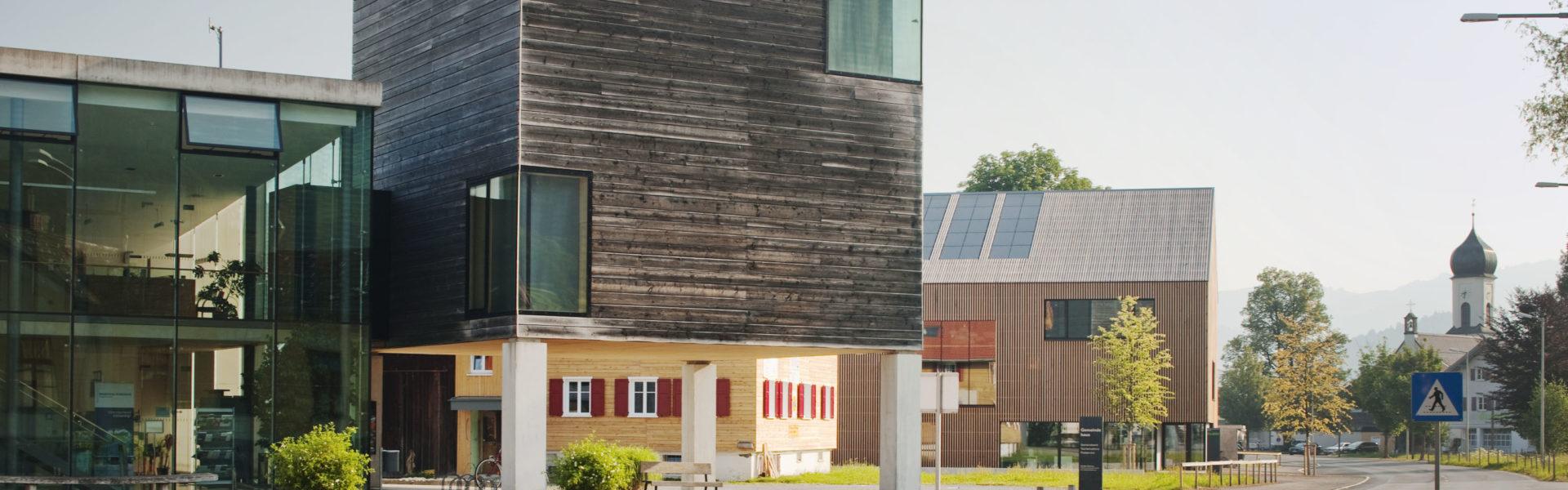 Architektouren: Dorfzentrum Andelsbuch, Foto: Albrecht Immanuel Schnabel