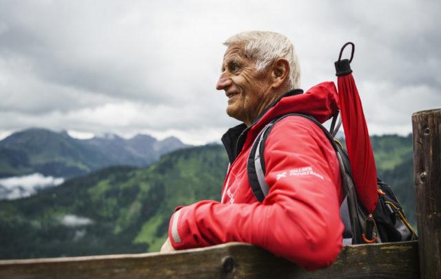 Bergführer Ernst Haller, Gottesackerplateu, Kleinwalsertal (c) Dietmar Denger / Vorarlberg Tourismus