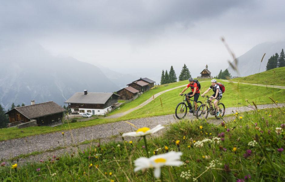 E-Bike Rellseck Montafon © Vorarlberg Tourismus