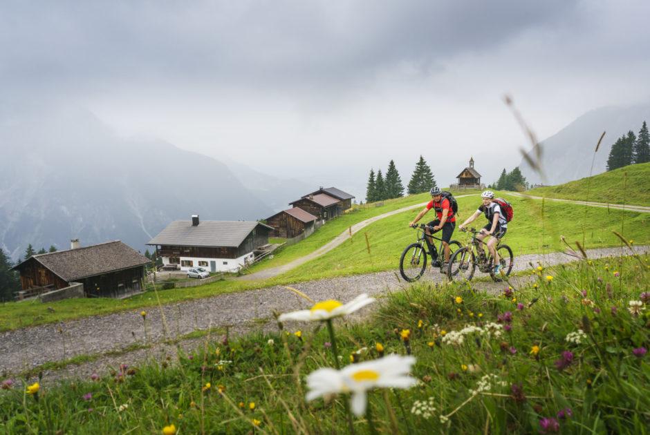 E-Bike Rellseck Montafon, Bergerlebnis (c) Vorarlberg Tourismus