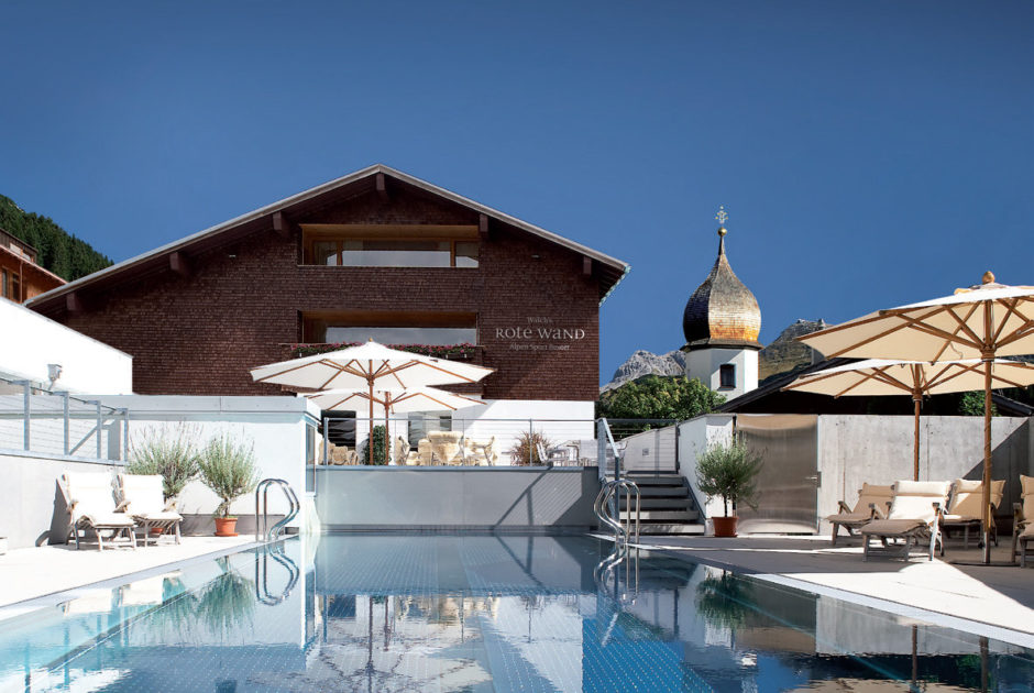 Golfhotel Rote Wand Lech pool(c)Hotel Rote Wand