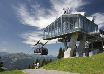 Wandern mit der Seilbahn, Sommerbergbahnen, Bezau Bergstation (c) Seilbahn Bezau / Vorarlberg Tourismus