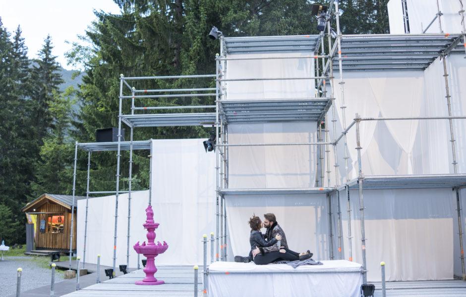 Shakespeare am Berg, Probe zu Romeo und Julia, 2016 (c) Darko Todorovic / Vorarlberg Tourismus
