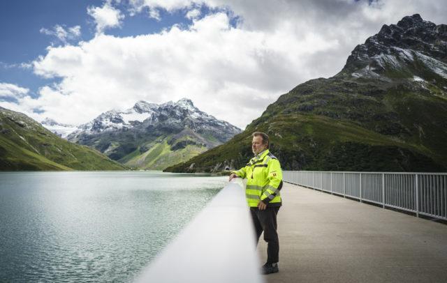Silvretta-Stausee Ing. Hansjörg Schwarz (c) Dietmar Denger / Vorarlberg Tourismus