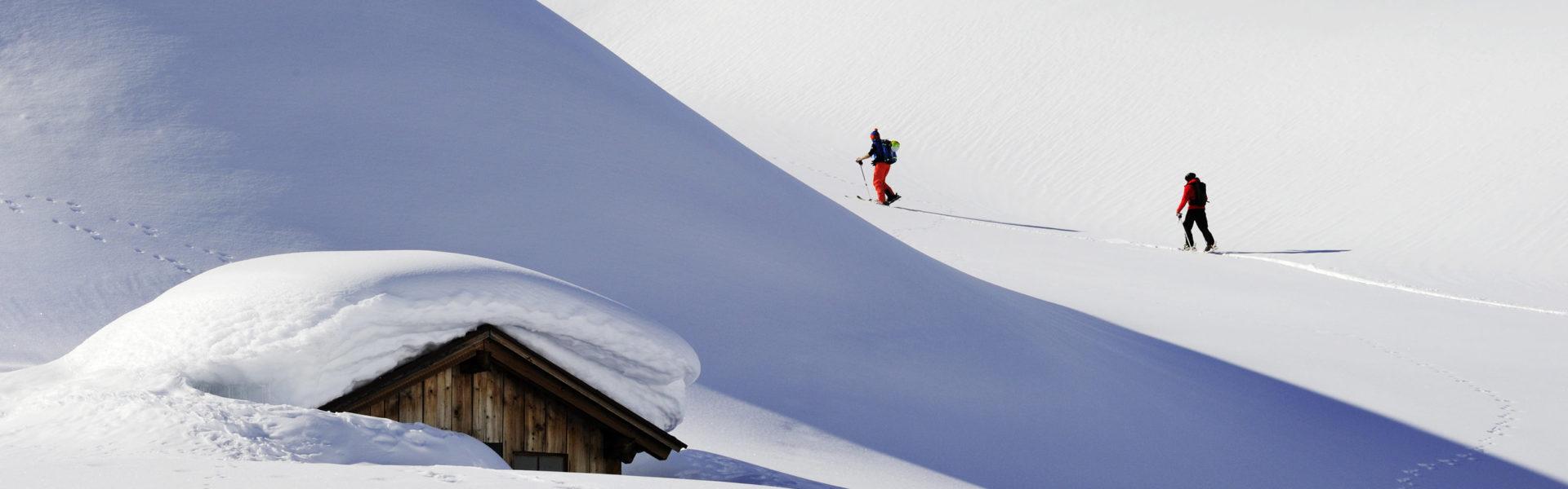 Skitour am Arlberg (c) Vorarlberg Tourismus