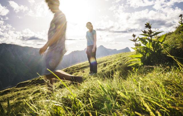 Wandern auf der Bärguntalpe © Vorarlberg Tourismus