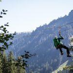 Ausstieg Klettersteig Rongg Wasserfall