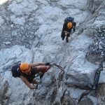 Einstieg Klettersteig Gauablickhöhle