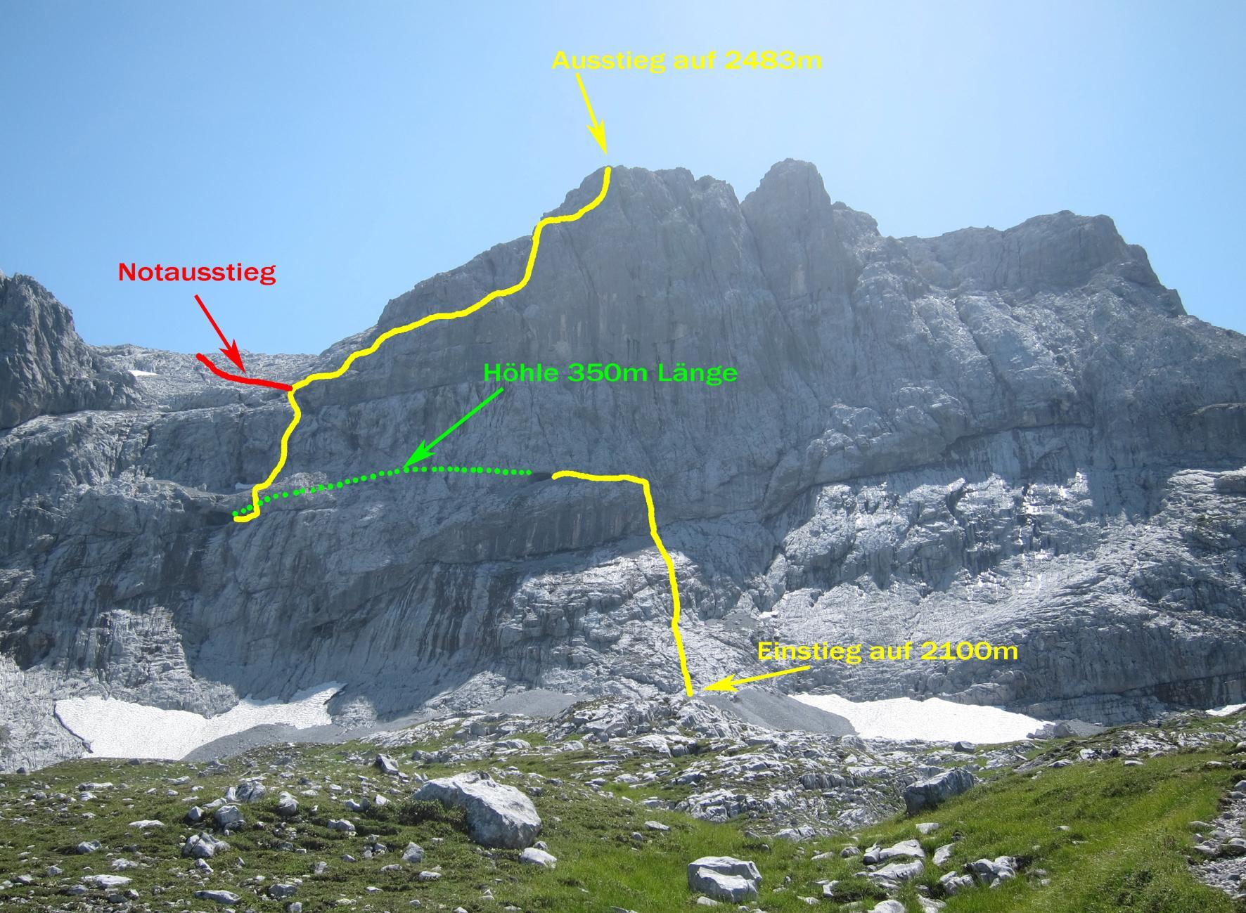 Klettersteig Vorarlberg : Ausstieg klettersteig gauablick urlaub in vorarlberg