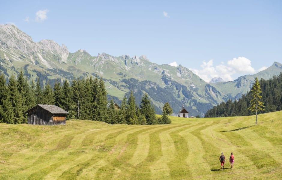 Wandergenuss in Sonntag-Stein (c) Alex Kaiser - Alpenregion Bludenz Tourismus GmbH