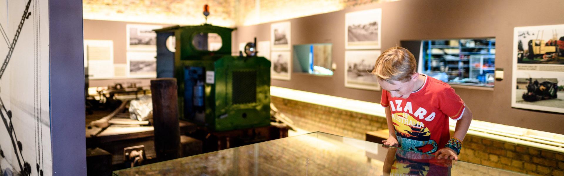 Ausstellung in der Lok-Remise (c) Matthias Rhomberg / Rhein-Schauen