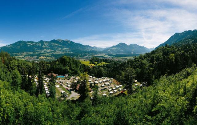 Alpencamping Nenzing, Camping in Vorarlberg © Walter Vonbank / Vorarlberg Tourismus