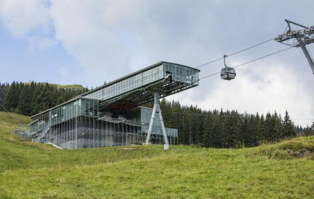 Golmerbahn Mittelstation Matschwitz, Sommer-Bergbahnen © Darko Todorovic / Vorarlberg Tourismus