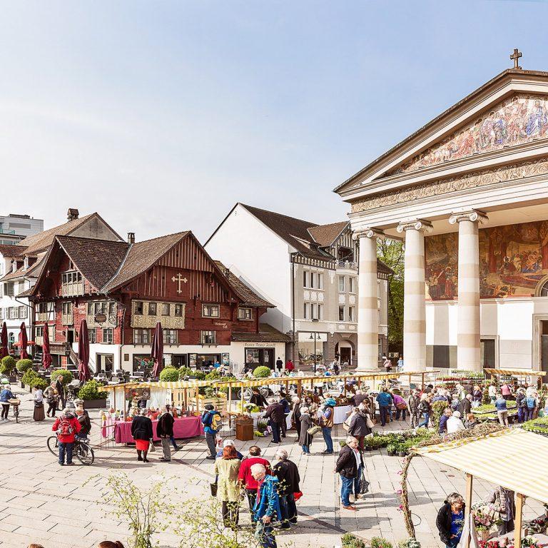Marktplatz Dornbirn (c) Dornbirn Tourismus & Stadtmarketing GmbH