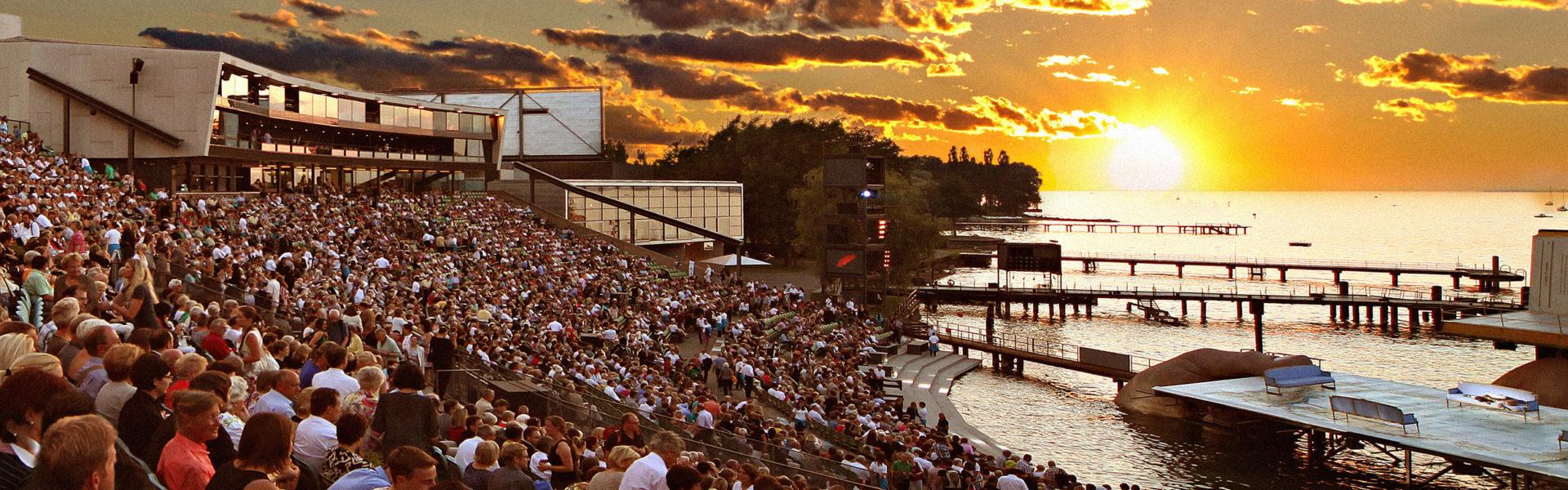 Spiel auf dem See, Seebühne Bodensee, Festivals in Vorarlberg (c) Foto Bregenzer Festspiele