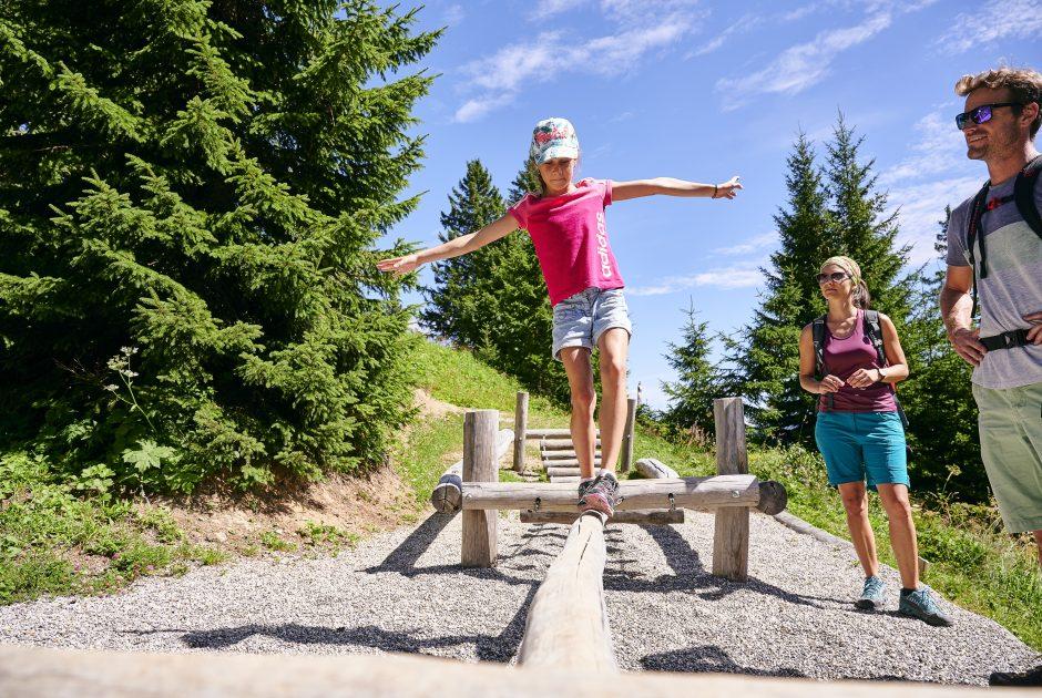 Tierwelten-Weg (c) Aleander Kaiser, Bergbahnen Brandnertal