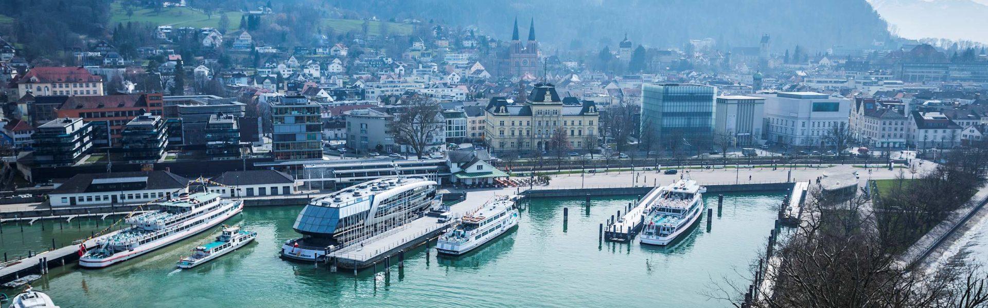 Vorarlberg Lines, Flotte im Hafen Bregenz (c) Reinhard Fasching