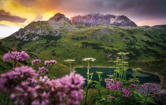 Formarinsee Rote Wand, Arlberg (c) Dietmar-Denger / Vorarlberg Tourismus