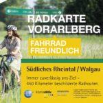 Radkarte Vorarlberg - Südliches Rheintal (c) Vorarlberger Landesregierung