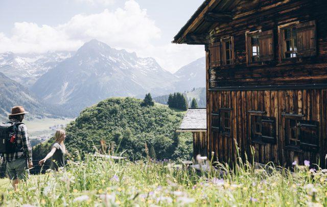 Wandern (c) Daniel Zangerl - Lech Zürs Tourismus