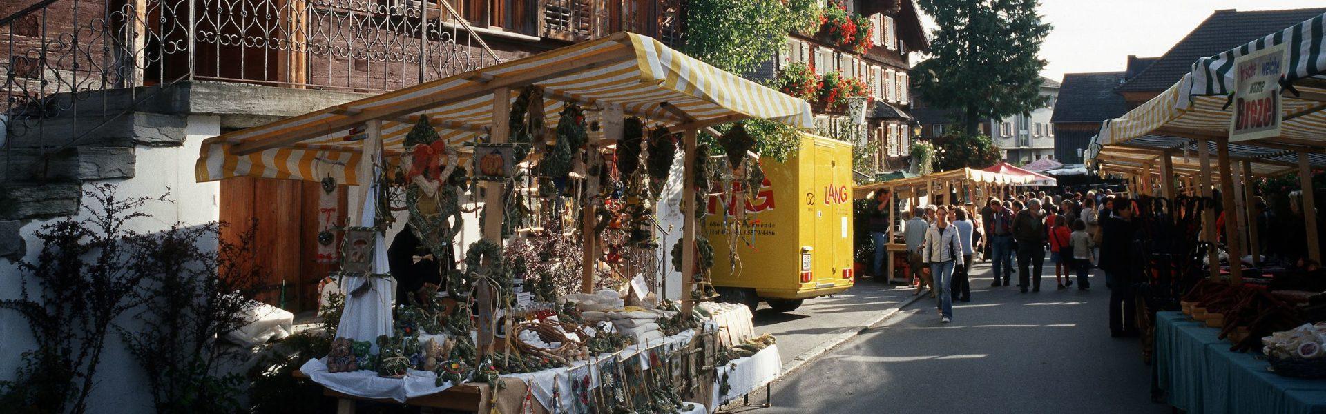 Alptag, Markt mit Käseprämierung, Schwarzenberg, Bregenzerwald, Vorarlberg (c) Christoph Lingg, Bregenzerwald Tourismus