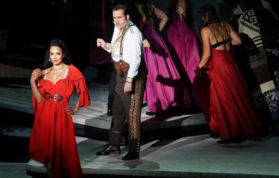 Bregenzer Festspiele, Carmen, Seebühne, Escamillo (c) Karl-Forster / Bregenzer Festspiele