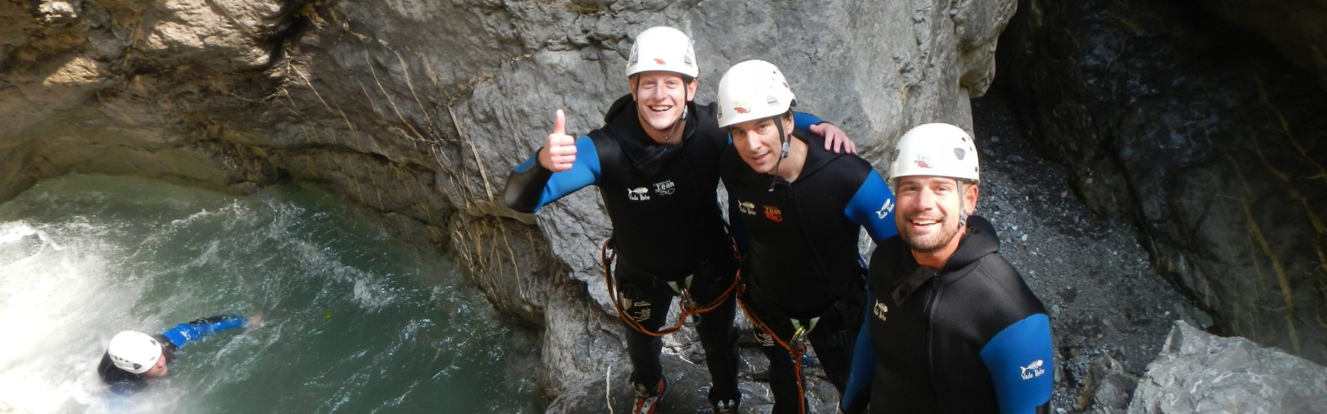 Canyoning in Dornbirn, (c) Canyoning Team Vorarlberg