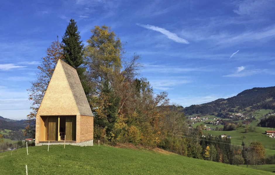 baukultur Kapelle Salgenreute Krumbach Projekt Bernardo Bader, Themenwandern Kultur © Adolf Bereuter / bernardo bader architekten