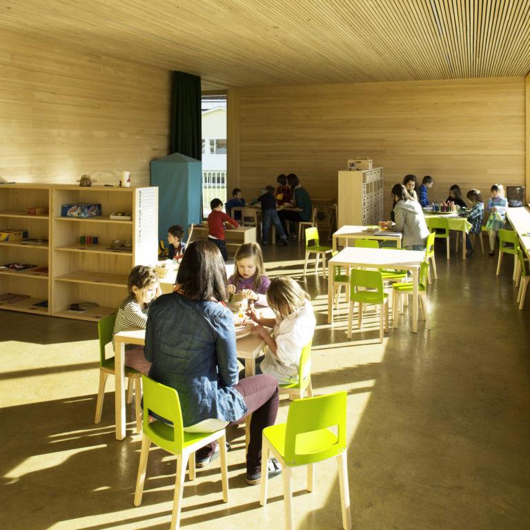 baukultur Kindergarten Muntlix Projekt Matthias Hein © Darko Todorovic / Hein Architekten