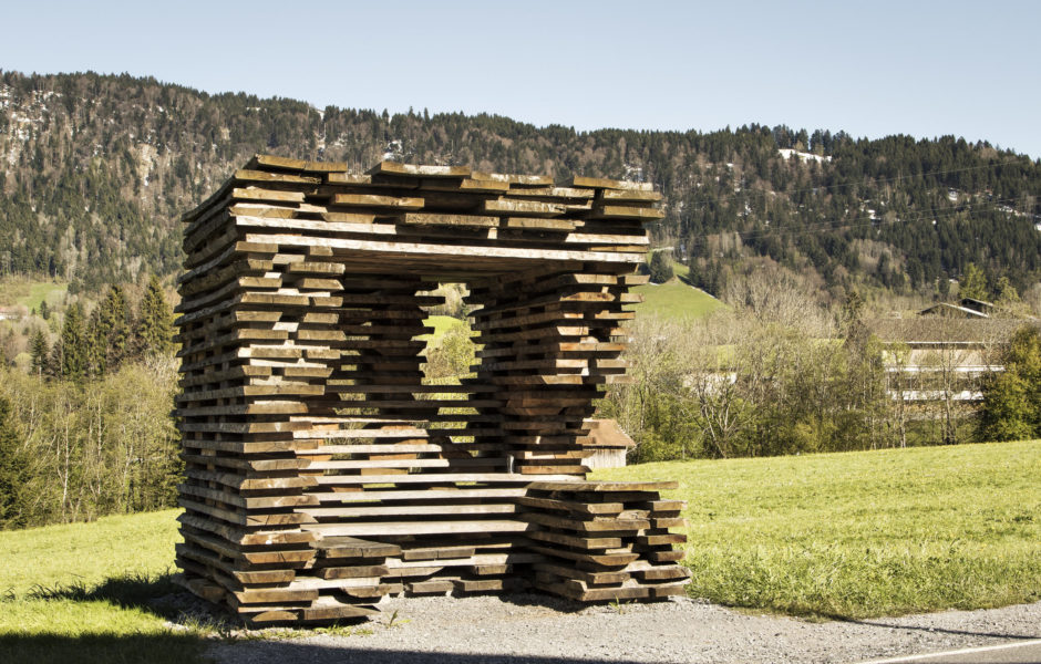 Busstop Krumbach, Unterkrumbach Nord © Albrecht Imanuel Schnabel / Vorarlberg Tourismus