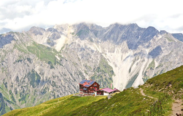 Kaltenberghütte, Lechquellengebirge, Panoramawandern, panoramic hikes © Peter Freiberger / Vorarlberg Tourismus