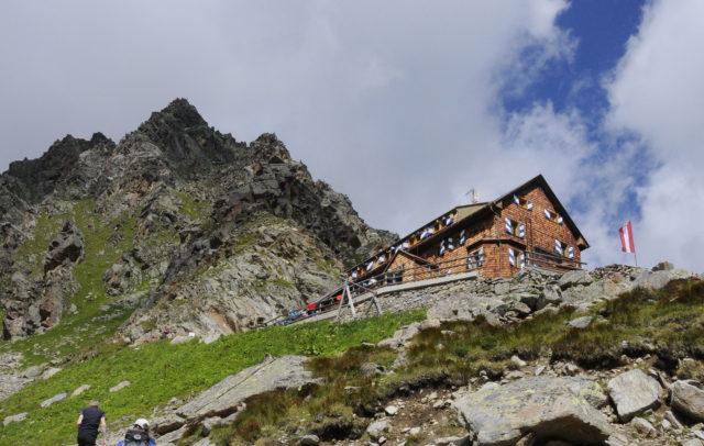 Die Steigvariante führt am Schluss steil hinauf zur Saarbrücker Hütte. © Peter Freiberger / Vorarlberg Tourismus