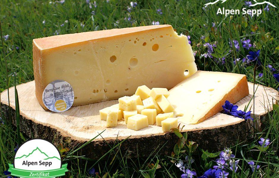 Käse Online-Shop, Bergkäse von Alpen Sepp © Alpen Sepp