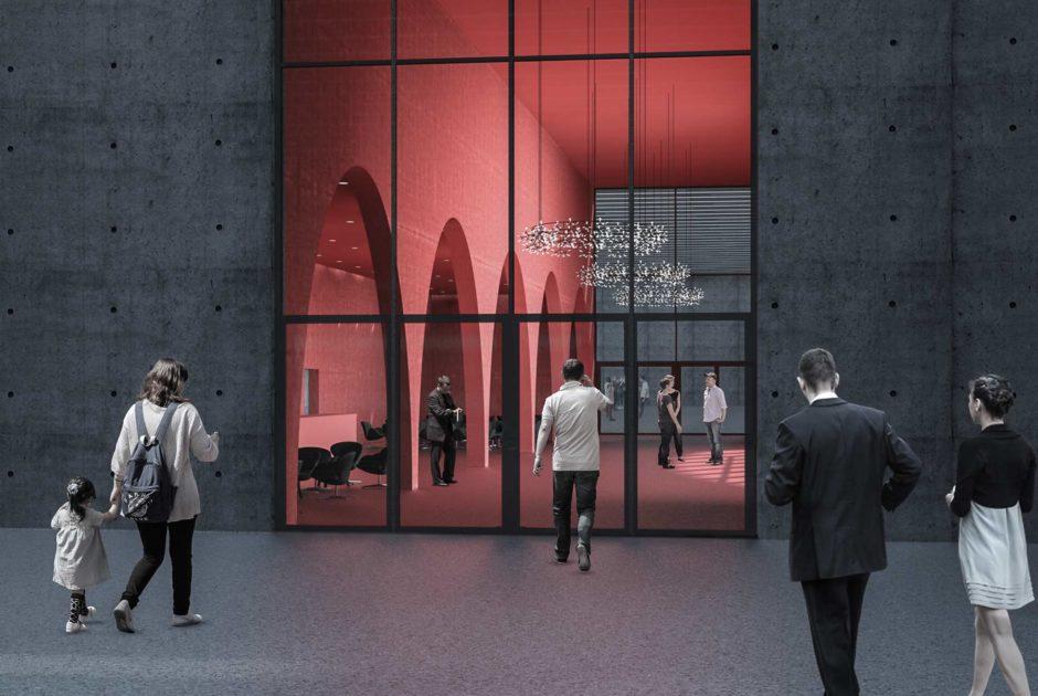 Messe Dornbirn, Neue Messehallen,, Kunstmesse Art Bodensee (c) marte.marte Architekten