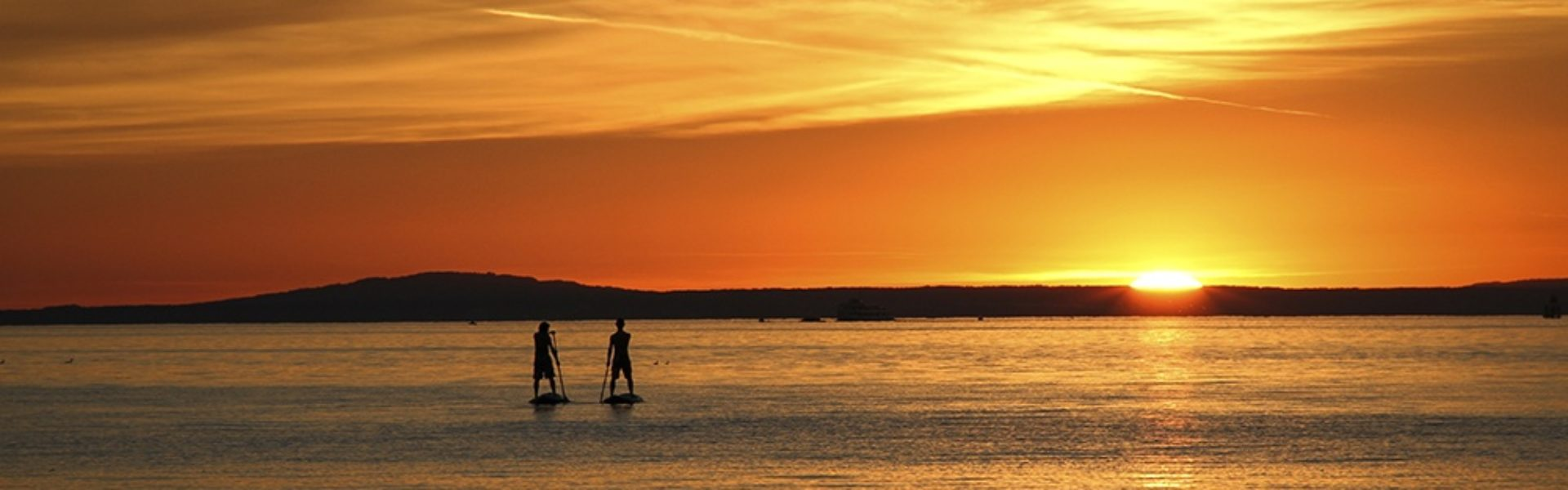 Sonnenuntergangstour SUP, Stand-up paddling (c) Ländle SUP