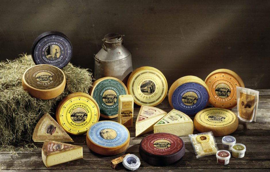 Souvenirs aus Vorarlberg, Käse, Online-Shop © KäseStrasse Bregenzerwald