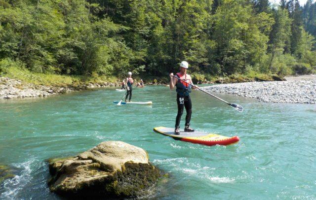 Stand Up Paddling, Bregenzerach, (c) Canyoning Team Vorarlberg