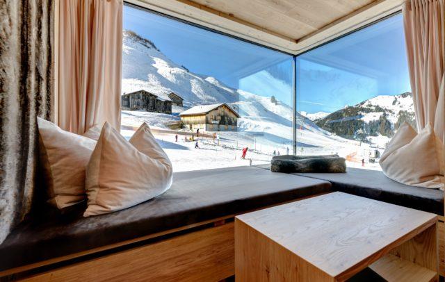 Top Family Familienhotel Alpenresort Walsertal, Hotels Vorarlberg, Zimmer mit Ausblick © Matthias Rhomberg, Alpenresort Walsertal