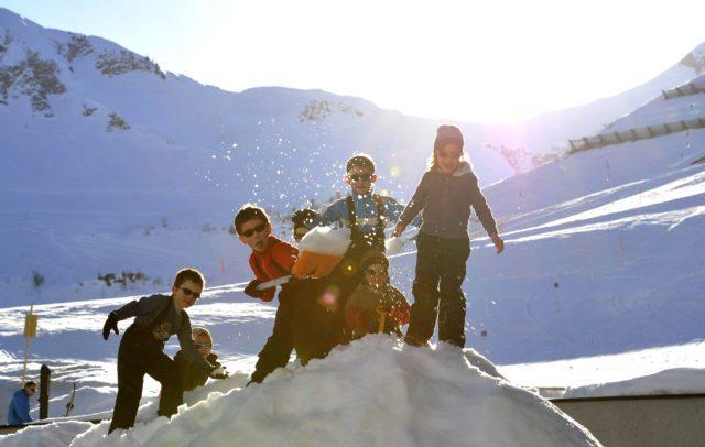 Top Family Familienhotel Alpenresort Walsertal, Spaß im Schnee © Alpenresort Walsertal