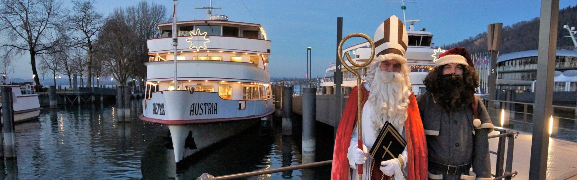 Ausfahrt mit dem Nikolaus, Bodensee-Schifffahrt © Hammerer Planen GmbH