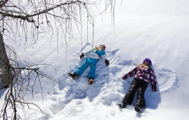 Schneeengel © Dietmar Walser / Alpenregion Bludenz Tourismus GmbH