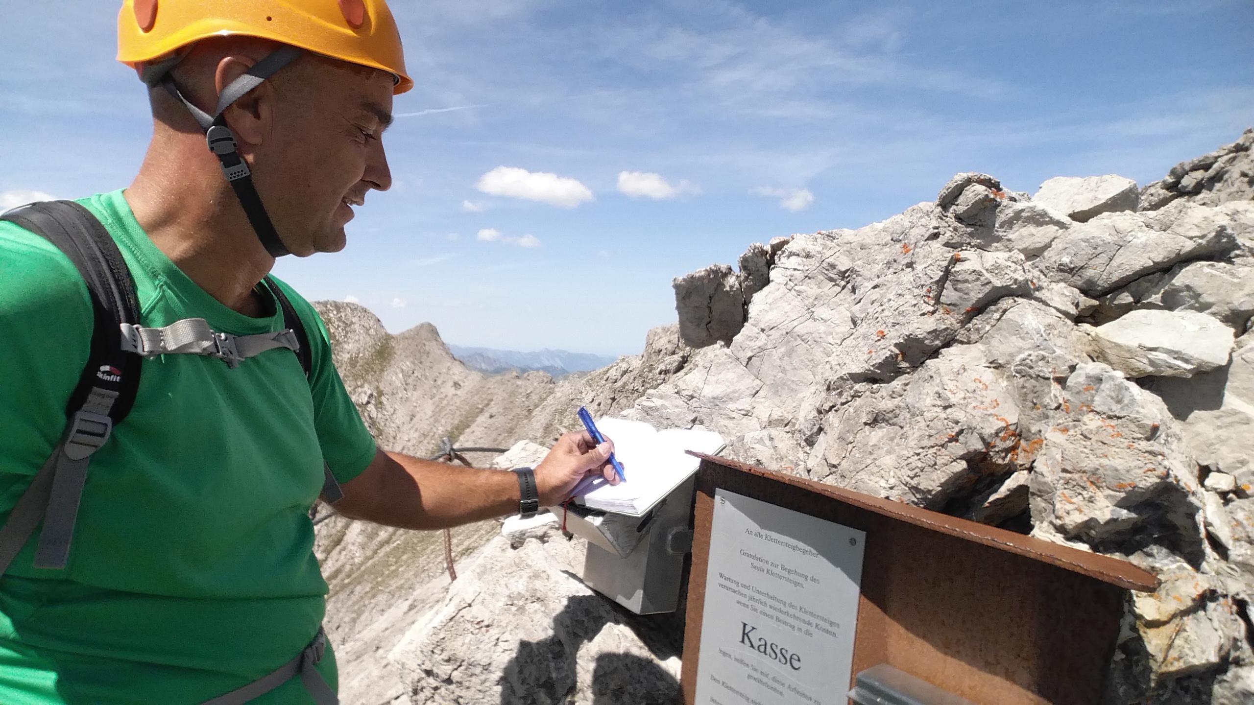 Klettersteig Saulakopf : Ausstieg klettersteig saulakopf urlaub in vorarlberg