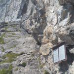 Einstieg Klettersteig Saulakopf