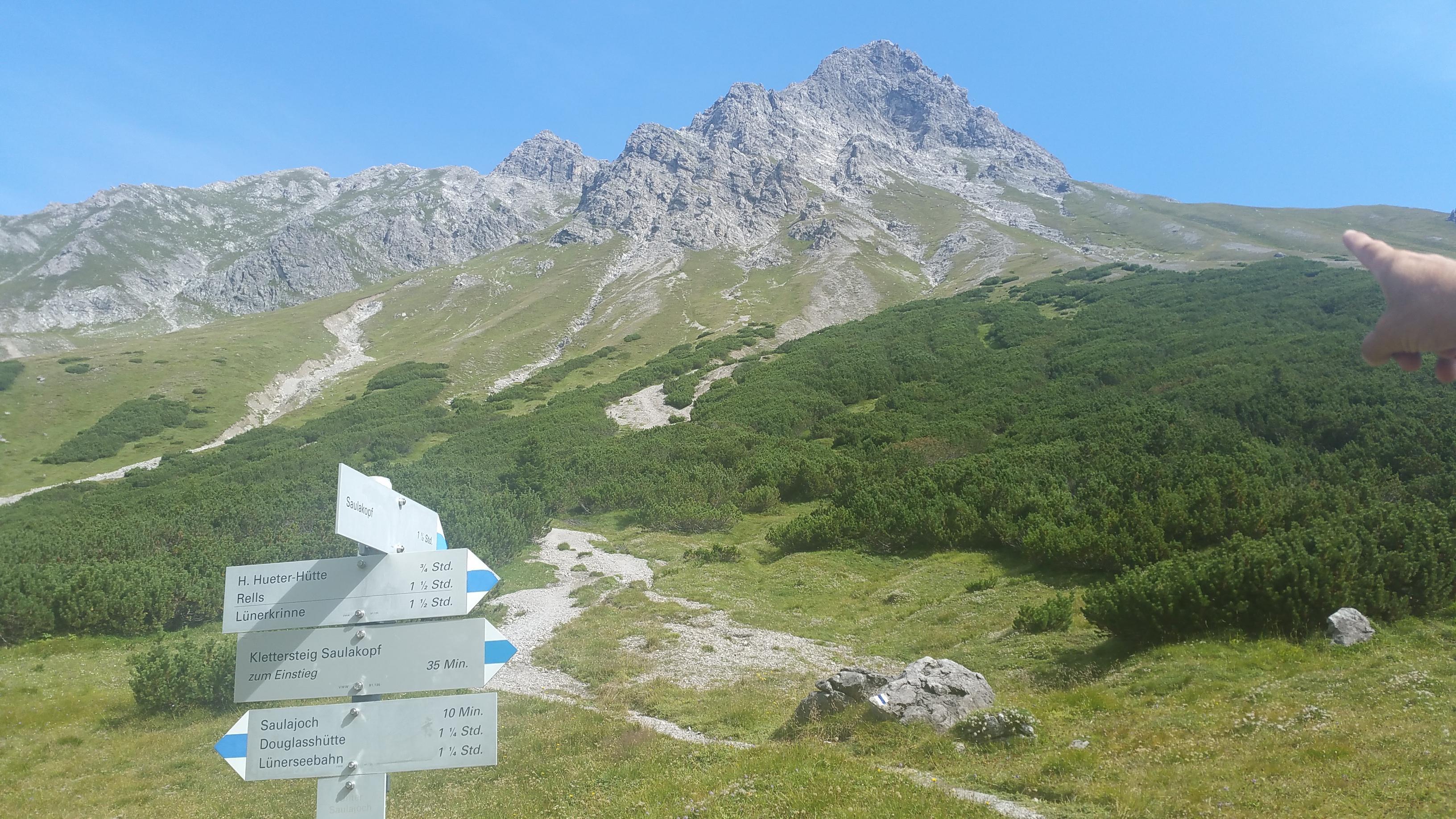 Klettersteig Saulakopf : Saulakopf urlaub in vorarlberg
