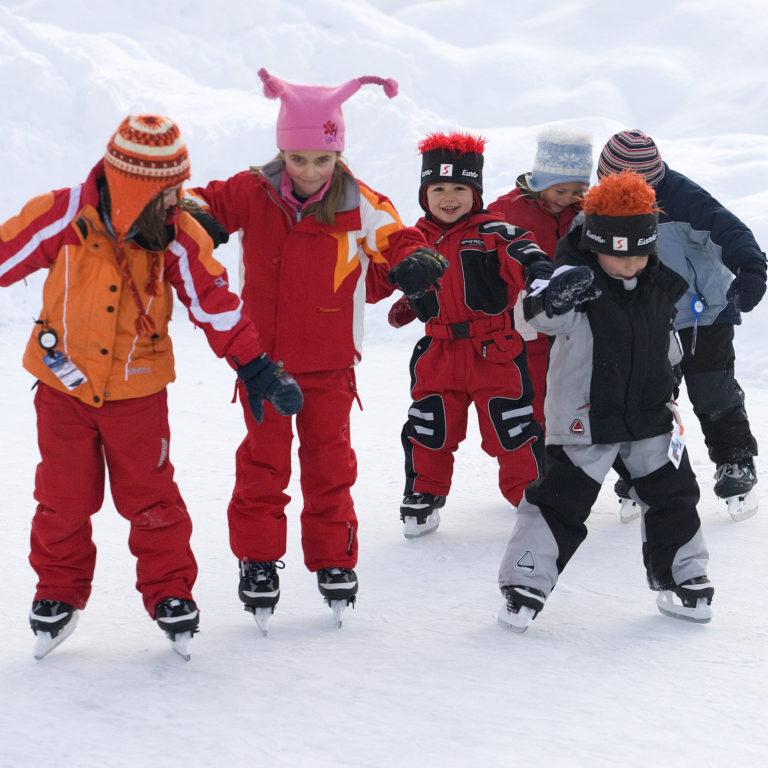 Eislaufen © Dietmar Walser / ©Alpenregion Bludenz Tourismus GmbH