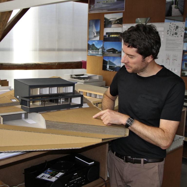 Portrait Architekt Dieter Klammer © Thomas Zwicker / Vorarlberg Tourismus