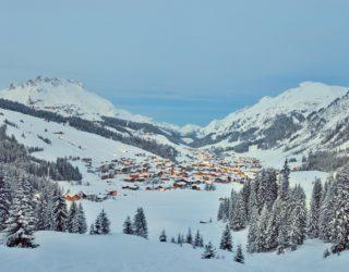 Blick auf Lech im Winter © Sepp Mallaun / Lech Zürs Tourismus