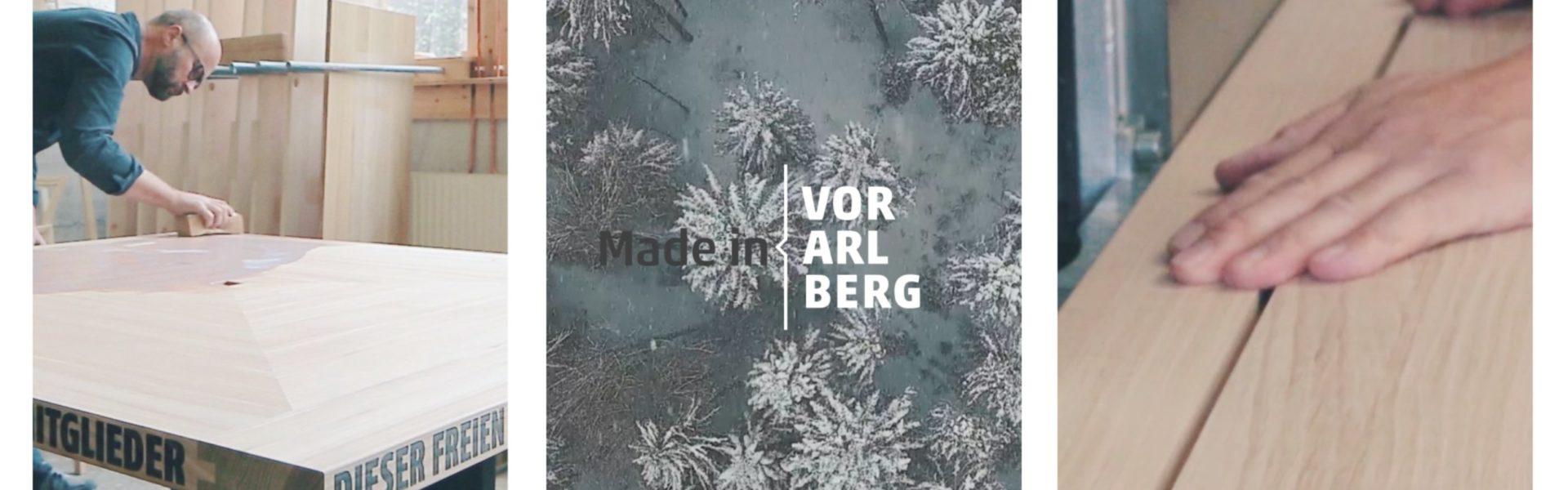 Markus Faisst, Made in Vorarlberg, Video © Markus Gmeiner Matak films / Vorarlberg Tourismus GmbH