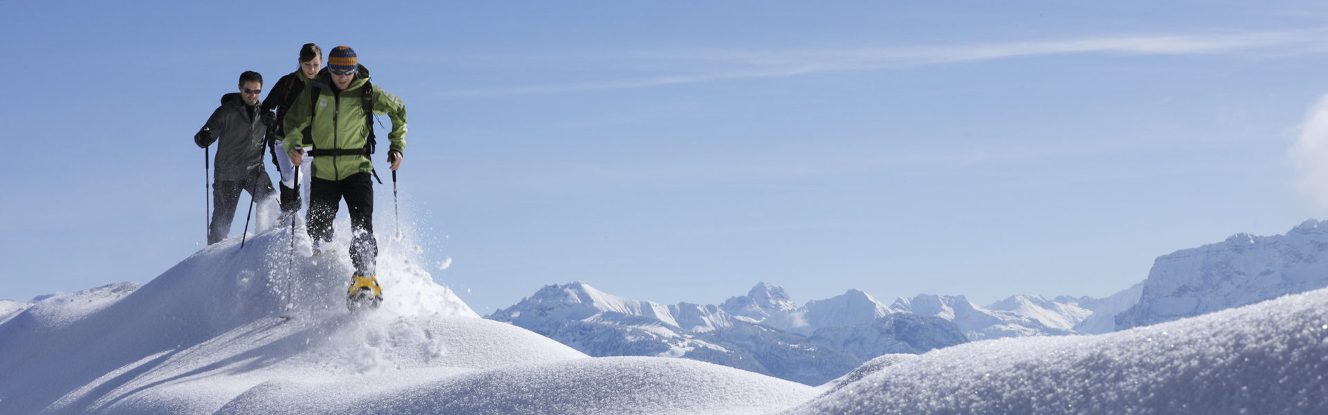 Schneeschuhwandern, Schneeschuhtour am Bödele © Adolf Bereuter / Bregenzerwald Tourismus